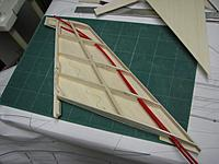Name: IMG_0663.jpg Views: 59 Size: 188.4 KB Description: The elevator snakes have to be routed through before the fin is sheeted in, so it all gets a bit unwieldy from here on.