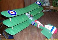 Name: plane 008.jpg Views: 205 Size: 93.1 KB Description: degreen60's GWS Tiger Moth wings into a Sopwith Triplane.