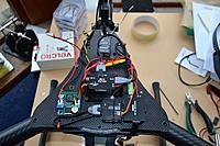 Name: Top plate with PMU and GCU.jpg Views: 252 Size: 231.6 KB Description: Naza PMU, H3-3D GCU, iOSD mini, voltage regulator module and Futaba R6303SB Rx mounted on top plate
