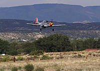 Name: Ross' Mustang landing.jpg
