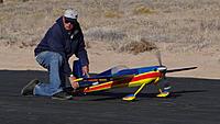 Name: Ross Edge 540 on runway.jpg Views: 54 Size: 169.0 KB Description: Art helps do a radio check.