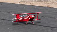 Name: DSC04140.jpg Views: 58 Size: 174.9 KB Description: Pat's little red biplane is a fine looking machine.
