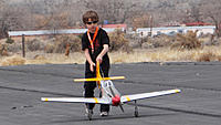 Name: DSC04256.jpg Views: 70 Size: 197.9 KB Description: Among other things, one of John's primary duties is plane tug.