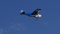 Name: DSC04565.jpg Views: 55 Size: 88.8 KB Description: The Cub makes a slow speed pass in front of the pilot stations.
