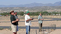 Name: DSC05767.jpg Views: 52 Size: 141.7 KB Description: Manning the flying stations from left to right are Alfredo, Ross (spotting), Art, and Rob.