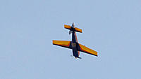 Name: DSC05832.jpg Views: 44 Size: 179.9 KB Description: Ross puts some g-force on the wings.