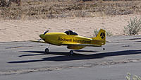 Name: DSC05887.jpg Views: 38 Size: 298.6 KB Description: Ross's Rockwell International P-51 is a head turner.