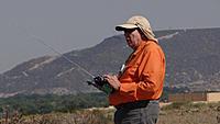 Name: DSC06060.jpg Views: 40 Size: 218.7 KB Description: Gary guides his Aero-Works Stingray through some maneuvers.