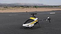 Name: DSC06251.jpg Views: 43 Size: 240.0 KB Description: Gary's little Axe 100 heli was flown by our heli test pilot.