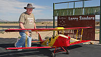 Name: DSC06273.jpg Views: 39 Size: 137.4 KB Description: Pat poses with his new Tiger Moth.