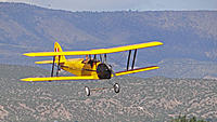 Name: DSC07807.jpg Views: 50 Size: 257.4 KB Description: Ross brings in Pat's Tiger Moth for a landing.