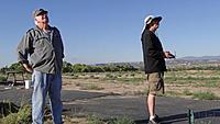 Name: DSC07880.jpg Views: 43 Size: 273.4 KB Description: Daren (right) mans the sticks while Pat watches his creation take flight.