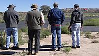 Name: DSC08128.jpg Views: 47 Size: 133.5 KB Description: From left, Pat, Juan, Ross and Alfredo watch Pat's SlowPoke settle down.
