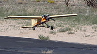 Name: DSC08405.jpg Views: 39 Size: 124.3 KB Description: The Stik comes down for a very soft landing.