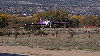 Name: DSC08710.jpg Views: 52 Size: 150.1 KB Description: The successful flight ends with a soft touchdown.