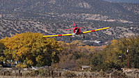 Name: DSC08671.jpg Views: 50 Size: 161.5 KB Description: Ray's Texan comes in over the fall foliage.