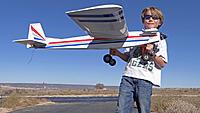 Name: DSC09004.jpg Views: 57 Size: 236.2 KB Description: The proud solo pilot John and his machine.