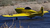 Name: DSC08908.jpg Views: 63 Size: 247.9 KB Description: Ross's P-51 racer taxies out.
