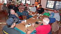 Name: DSC09863.jpg Views: 67 Size: 159.3 KB Description: Clockwise from bottom left, RayM, Jerry, Ross, Mark, Art, Tony, Jack, Juan, Pat, Ruben, John, RayG, RayG2, and Tom get ready for a hearty breakfast at La Cocina.