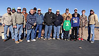 Name: DSC09895.jpg Views: 85 Size: 138.4 KB Description: At the field, this group photo includes (from left) Tony, Art, Juan, Pat, Tom, RayM, Jack, Ross, Mark, RayG, John (front), Chuck, RayG2 (front), Neal, and Marc.