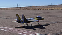 Name: DSC00379.jpg Views: 70 Size: 143.3 KB Description: Ray's F-15 EDF taxis out.
