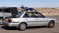 Name: DSC00395.jpg Views: 68 Size: 265.2 KB Description: This gentleman got creative to transport his Corsair.