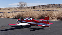 Name: DSC00674.jpg Views: 33 Size: 137.2 KB Description: Ross taxis out his glow powered new plane.