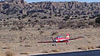 Name: DSC00702.jpg Views: 37 Size: 142.9 KB Description: Ross brings the Tucano in for a nice landing.