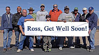 Name: DSC01066.jpg Views: 58 Size: 288.2 KB Description: Get back to the flight line soon Ross. From left, Marc, Bernie, Tom, Pat, RayG, John, Gary, Ruben, Art, Jack and Jerry.