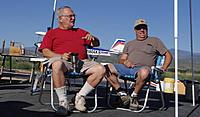 Name: DSC04664.jpg Views: 61 Size: 274.8 KB Description: Tom (left) and son Richard enjoy the fine conditions.