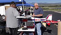 Name: DSC04701.jpg Views: 42 Size: 305.7 KB Description: Pat (right) helps Ruben get his Ibis ready for flight.