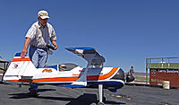Name: DSC04767.jpg Views: 50 Size: 234.4 KB Description: Jack gets ready to taxi out his Pitts.