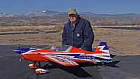 Name: DSC07936.jpg Views: 22 Size: 269.8 KB Description: Pat and his new DLE-35 powered Sbach.