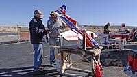 Name: DSC07938.jpg Views: 26 Size: 283.7 KB Description: Pat (left) and Art do a post-flight check.
