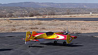 Name: DSC08124.jpg Views: 30 Size: 300.4 KB Description: Gary's new Aeroworks ProX had a successful maiden.