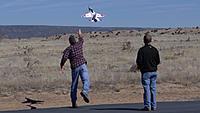 Name: DSC08490.jpg Views: 29 Size: 270.0 KB Description: Ross hand launches Chris's F-16.