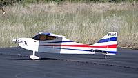 "Name: DSC00075.jpg Views: 32 Size: 149.3 KB Description: Pat's new 88"" Pilot Sky-Wolf made a flight this morning."