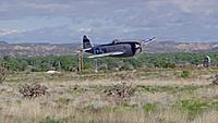 Name: DSC00189.jpg Views: 39 Size: 136.7 KB Description: Guest pilot Dave flew his nice P-47.