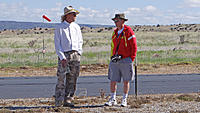 Name: DSC00395.jpg Views: 31 Size: 740.6 KB Description: Dan (left) and Chris chat on the flight line.