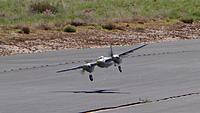 "Name: DSC00575.jpg Views: 43 Size: 143.4 KB Description: Dan brings his ""Wooden Wonder"" in for a landing."