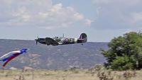 Name: DSC00777.jpg Views: 36 Size: 98.5 KB Description: With gear up, Phil's Spitfire makes a low pass.