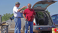 Name: DSC01148.jpg Views: 44 Size: 171.3 KB Description: Mark (left) and Tom discuss aerodynamics.