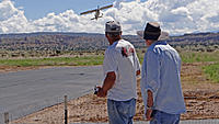 Name: DSC01181.jpg Views: 50 Size: 182.4 KB Description: Art (left) mans the sticks while Pat watches his Sky Wolf come in for a landing.