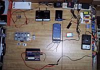 Name: Chargers_Feb 13, 2012.jpg Views: 197 Size: 206.0 KB Description: Charging table showing E-Flite models for charging and Hobby King ECO 6-10 for storage.
