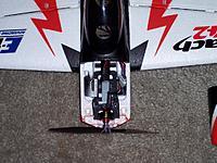 Name: Turnigy 1811-2900KV motor install_120212.jpg Views: 80 Size: 226.8 KB Description: Turnigy 1811-2900kv motor, GWS4530 prop.  December 2, 2012