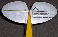 Name: Super Cub_control arm holes_121512.jpg
