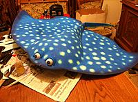 Name: Stingray 2 001.jpg Views: 197 Size: 275.9 KB Description: Moved the eyes forward so it looks more like Mr. Ray from Finding Nemo.