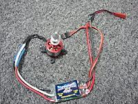 Name: 2011-10-04 10.59.38.jpg Views: 140 Size: 97.8 KB Description: ELE C20 PRO 2050Kv Outrunner w Castle Tbird 18 ESC $25 shipped in the US