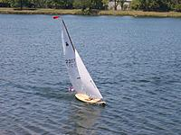 Name: Dazzler-gold sail numbers 2217.jpg