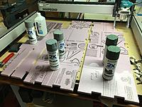 Name: IMG_3451.JPG Views: 8 Size: 2.40 MB Description: Fuselage sides glues and weighted while curing.